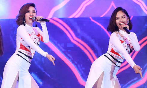 Thúy Nga làm cô dâu của Bảo Chung trong MV hài