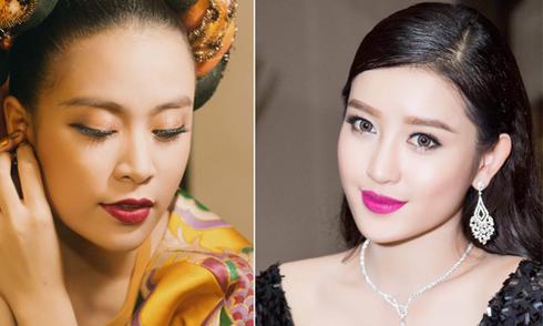 Hoàng Thùy Linh, Huyền My trang điểm đẹp hợp xu hướng 2016