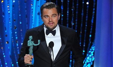 Leonardo DiCaprio giành giải SAG đầu tiên sau 9 lần được đề cử