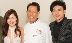 Yan Can Cook ủng hộ vợ chồng Đan Trường mở nhà hàng tại Mỹ