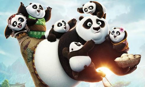 Bom tấn 'Kung Fu Panda 3' hút khách ở Bắc Mỹ và Trung Quốc