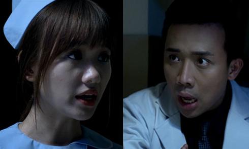 Trấn Thành, Hari Won bị hồn ma đeo bám trong phim kinh dị
