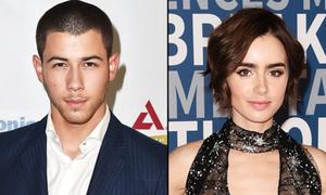 Nick Jonas bị đồn hẹn hò Lily Collins
