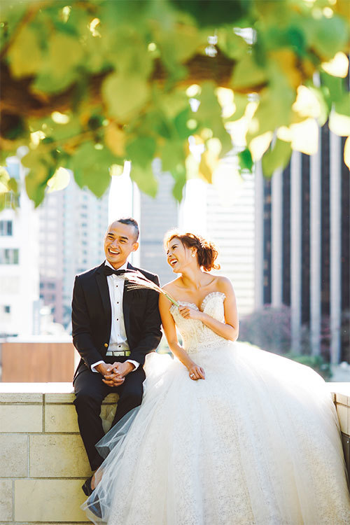 Lương Thế Thành, Thúy Diễm chụp ảnh cưới dưới hoàng hôn