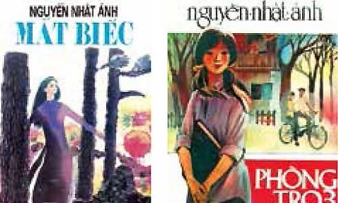Bìa sách Nguyễn Nhật Ánh gợi nhớ tuổi mộng mơ một thời