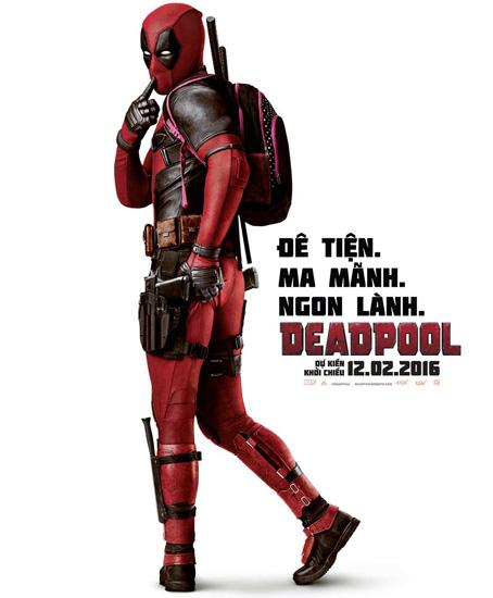 'Deadpool' - phim 17+ đẫm máu và hài hước