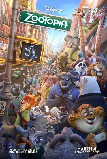 'Zootopia' - thành phố động vật mới như mơ của màn bạc Disney