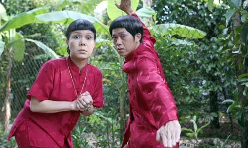 """Hoài Linh và Việt Hương là """"cặp bài trùng"""" trong nhiều bộ phim Tết."""