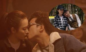 Phim 'Taxi, em tên gì?' hé lộ cảnh hôn cuồng nhiệt của Trường Giang