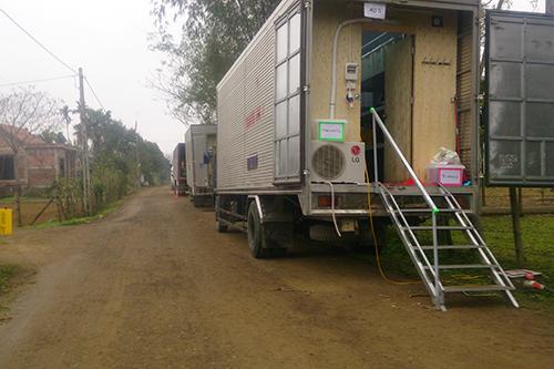 Đoàn phim 'King Kong' rời Quảng Bình tới Ninh Bình