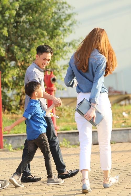 Hồ Ngọc Hà, Cường Đôla đưa Subeo đi xem nhạc kịch