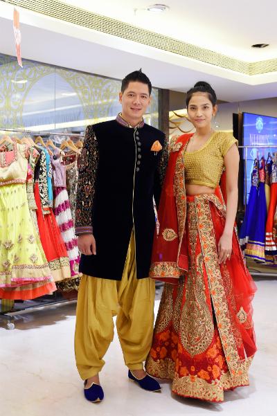 Bình Minh khoe vẻ điển trai trong trang phục Ấn Độ