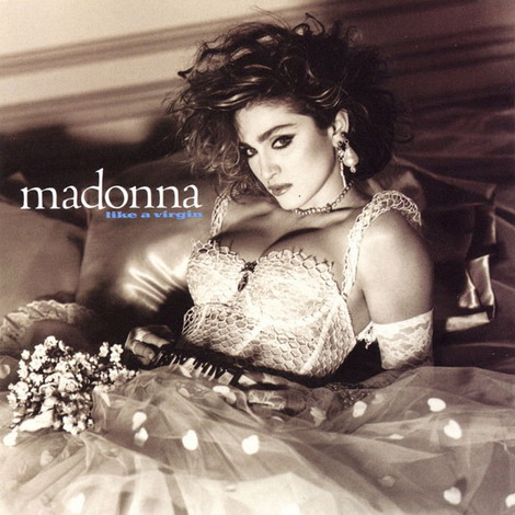 """Đĩa đơn """"Like a Virgin"""" của Madonna."""