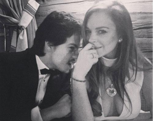 Lindsay Lohan hẹn hò con trai triệu phú Nga