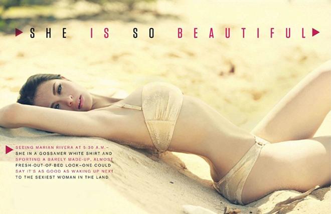 Vẻ nóng bỏng của 'Mỹ nhân đẹp nhất Philippines' khi diện áo tắm