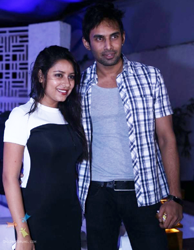 Pratyusha và bạn trai Rahul Raj Singh.