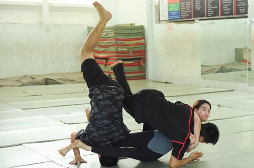 Trương Ngọc Ánh luyện võ cùng Vĩnh Thụy, Thiên Nguyễn