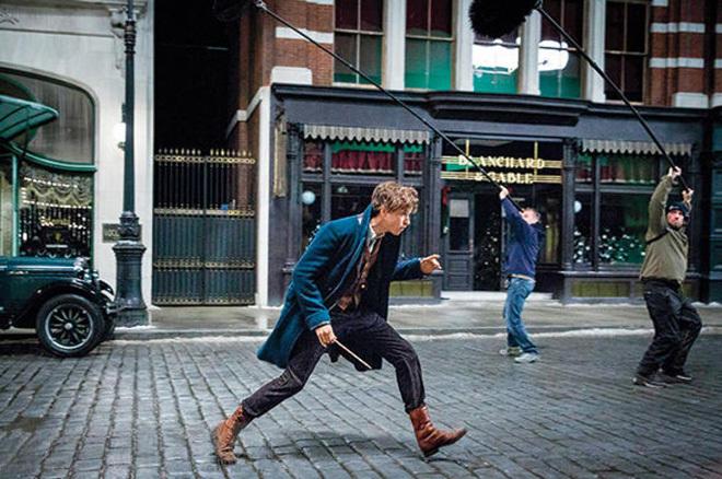 Tài tử 'Cô gái Đan Mạch' đóng chính trong tiền truyện 'Harry Potter'