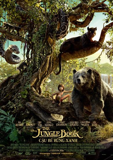 'Cậu bé rừng xanh' - phim hè mãn nhãn và khốc liệt của Disney