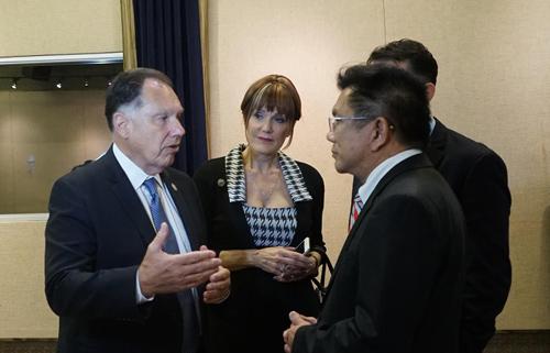 Vụ Minh Béo được nhắc tới trong buổi công bố dự luật mới của California