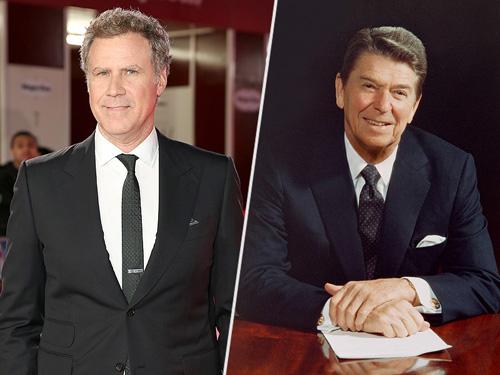 Will Ferrell đóng Tổng thống Ronald Reagan trong phim hài