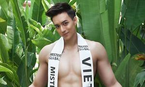 'Hot boy dao kéo' Vĩnh Cường thi chui Mister Global ở Thái Lan
