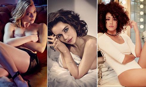 10 mỹ nhân nóng bỏng nhất loạt phim 18+ 'Game of Thrones'