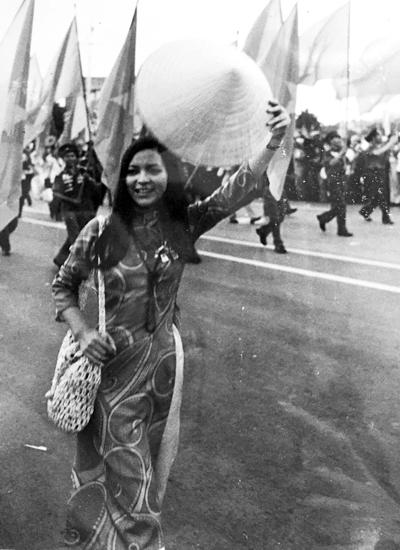 Ái Vân trên poster Festival Cuba năm 1978.