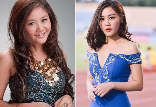 Van Mai Huong 9553 1462786838 Các sao Việt phủ nhận thẩm mỹ dù gương mặt khác lạ
