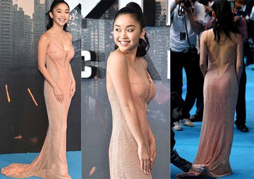 Người đẹp gốc Việt mặc gợi cảm ra mắt phim 'X-Men'