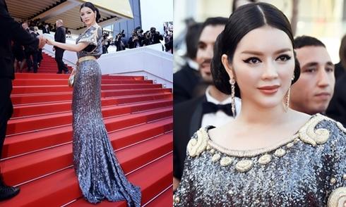 Lý Nhã Kỳ hóa nữ thần Ai Cập trên thảm đỏ Cannes