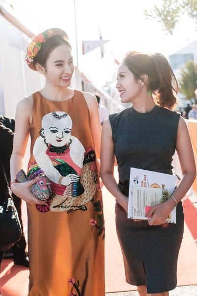 Tham dự Liên hoa phim Cannes lần này, Angela Phương Trinh và Thanh Thúy được trao trách nhiệmquảng bá cho Liên hoan phim Quốc tế Hà Nội lần thứ 4, diễn ra từ 1-5/11/2016, tại Hà Nội.