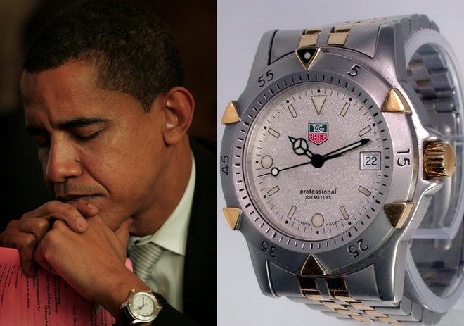 Bộ sưu tập đồng hồ của Tổng thống Obama