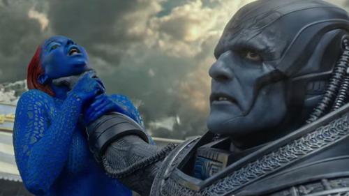 "Oscar Isaac vào vai dị nhân Apocalypse (phải) trong bom tấn ""X-Men: Apocalypse""."