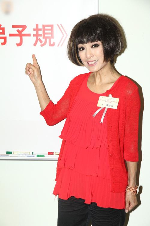 Sao TVB Mễ Tuyết khoe nhan sắc tuổi ngoài 60