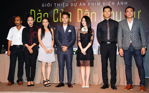 Dàn diễn viên phim mới của Hồng Ánh.