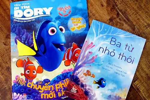 """Cuốn """"Ba từ nhỏ thôi"""" được thực hiện dựa trên cảm hứng về nhân vật cá Dory."""