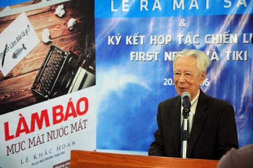 Nhà báo Lê Khắc Hoan.