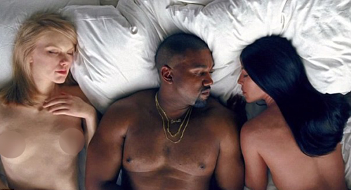 mv-ngap-canh-nude-cua-kanye-west-phat-song-tren-truyen-hinh-1