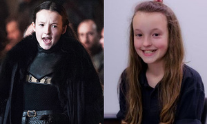 Bella Ramsey - cô bé 10 tuổi gây sốt 'Game of Thrones 6'