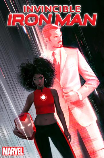 Cô gái da màu thay tỷ phú Tony Stark làm Người Sắt mới