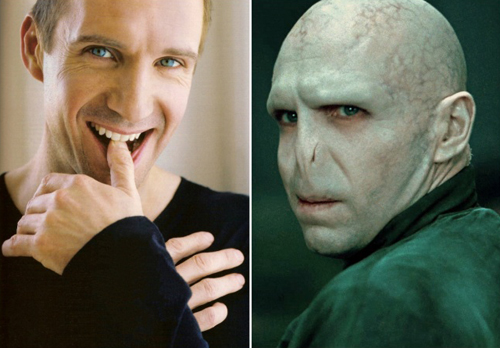 Ralph Fiennes  Lord Voldemort The Harry Potter films