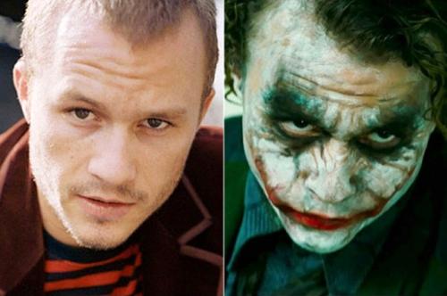 Heath Ledger với vai Joker The Dark Knight