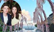 Lâm Tâm Như dựng đài hoa cao 7 m làm lễ cưới