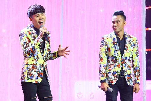 Cặp thí sinh Lê Tiến và Lê Linh.