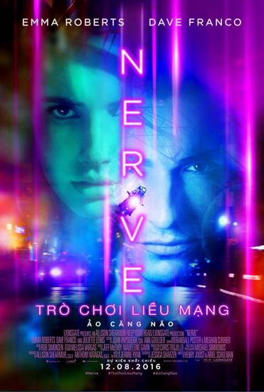 'Nerve' - khi cuộc sống bị đảo lộn bởi thói nghiện trò chơi trực tuyến