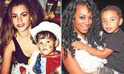Những người đẹp làm mẹ ở tuổi teen