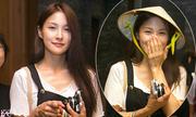 Cựu trưởng nhóm Kara thích thú nhận nón lá từ fan Việt