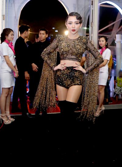 Ca sĩ Tóc Tiên.