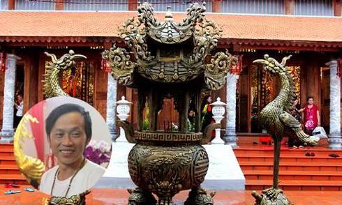 Bên trong nhà thờ tổ nghề sân khấu của Hoài Linh